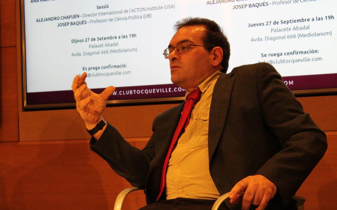 """Sesión """"Karl Deutsch o el nacionalismo revisitado"""" con Josep Baqués"""