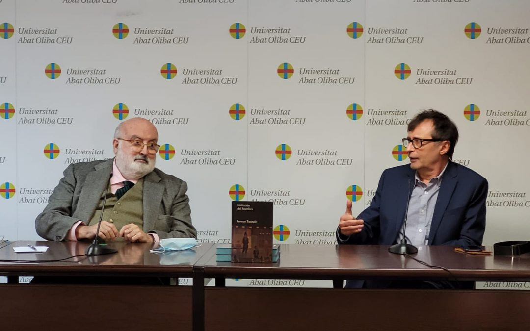 """Diálogo con Valentí Puig y Ferran Toutain sobre """"Imitación del hombre"""""""
