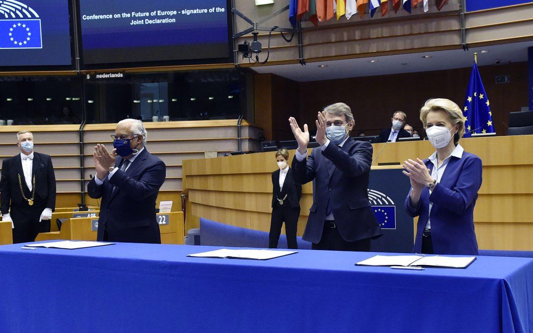 """""""La Conferencia sobre el Futuro de Europa"""", de Josep Mª Lloveras"""