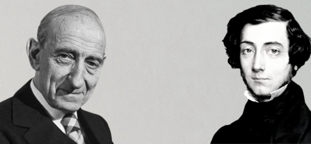 """""""Alexis de Tocqueville, visto por Aron"""", traducción inédita de Raymond Aron y presentación de Vicente de la Quintana"""